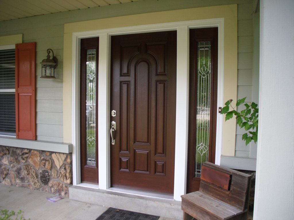 Entry doors and patio doors webster exteriors inc stained with 65 kit planetlyrics Choice Image