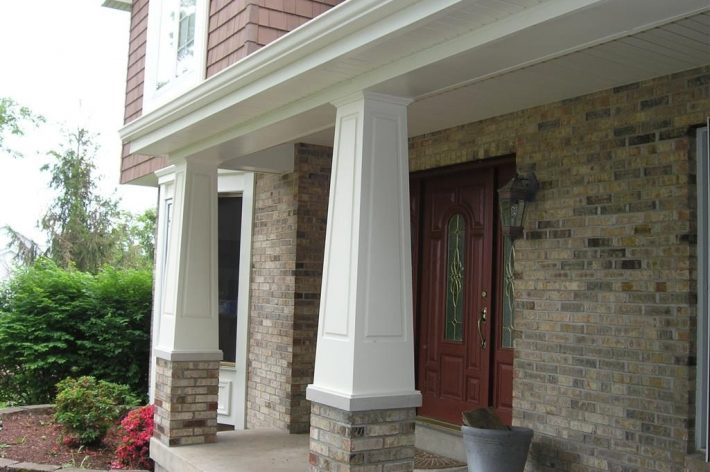 Tapered decorative columns